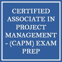 Certified Associate in Project Management (CAPM) Exam Preparation