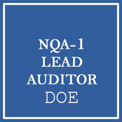 Protected: NQA-1 Lead Auditor Training (March 23-25, 2021) (Private DOE Class)