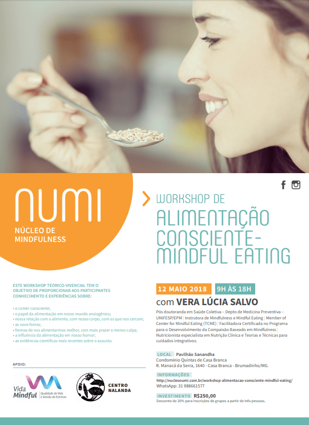 MINDFUL EATING CARTAZ