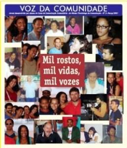 Jornal Vozes das Comunidades 2007