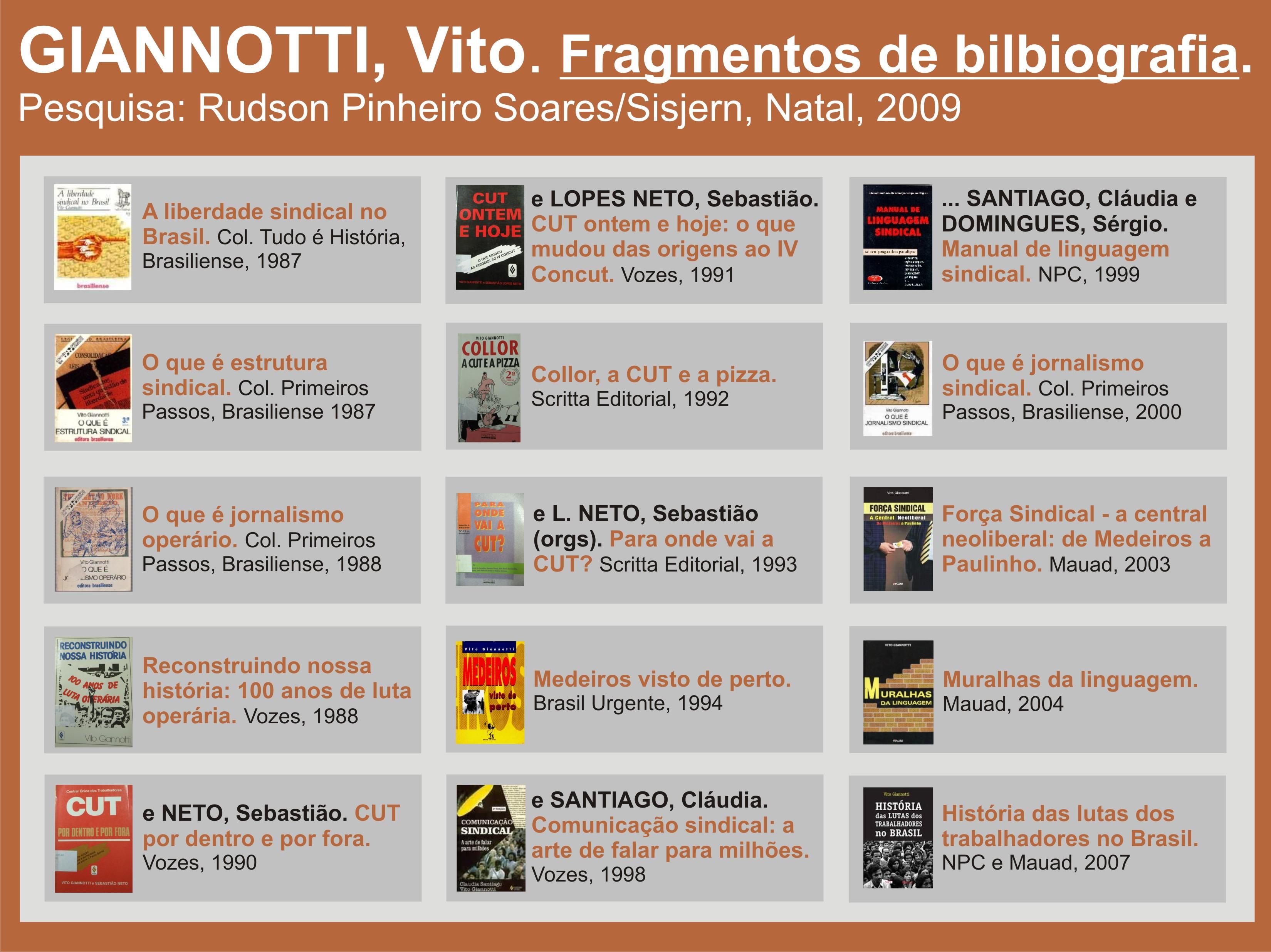 Livros - Vito