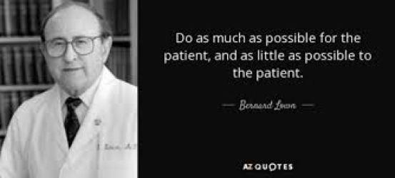 Dr.Bernard Lown MD Nobel laureate