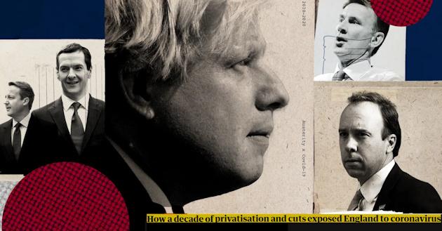 Τοαποτέλεσμα της συστηματικής αποσάθρωσης της δημόσιας Υγείας στη Βρετανίας