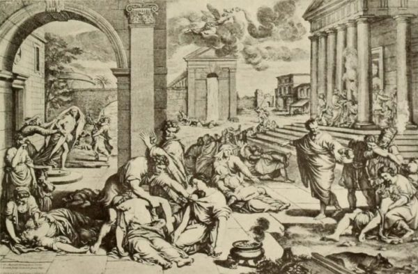 Ο λοιμός της Αθήνας (430 π.Χ.).