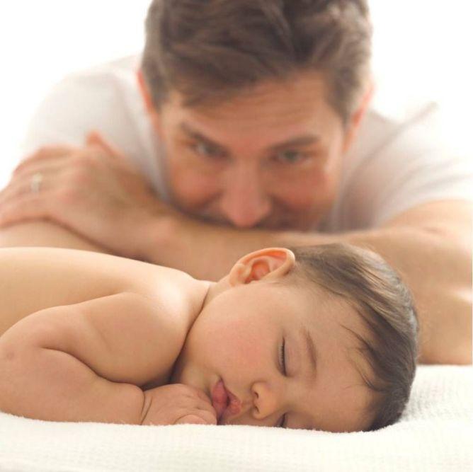 Πατέρας και μωρό