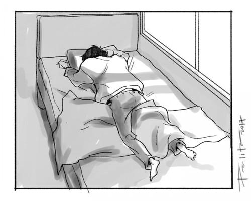 Το σκίτσο της Paulin Palita.