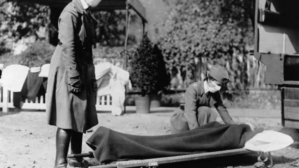 Γρίππη 1918 - Ξέσπασμα της επιδημίας