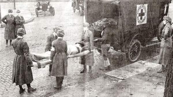 Γρίππη 1918 - Θύματα στο Σάιντ Λούις των ΗΠΑ