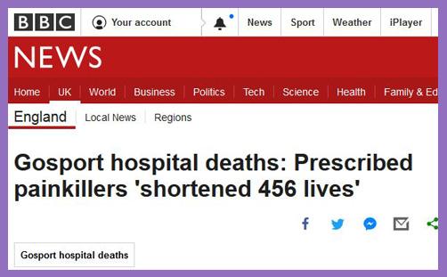 Βρετανία: Ποινική έρευνα για εκατοντάδες θανάτους σε νοσοκομείο από χορήγηση οπιοειδών