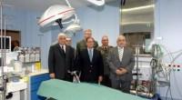 Στιγμιότυπο από την τελετή εγκαινίων της επίμαχης διακλαδικής καρδιοχειρουργικής κλινικής στο 401 Γενικό Στρατιωτικό Νοσοκομείο Αθηνών τον Απρίλιο του 2013