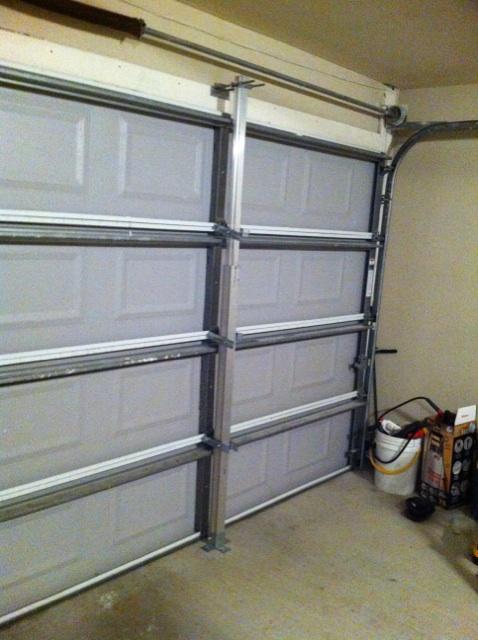 Garage Door Storm Brace  Dandk Organizer