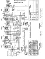 Free Westinghouse Electric Radio Corp Schematic Model H