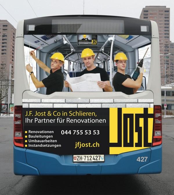 J.F. Jost & Co im Limmattal unterwegs