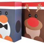 Lustige Weihnachtsboxen für Brieger