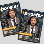 «booster» ist da! Das Magazin für Start-ups, Investoren und Interessierte