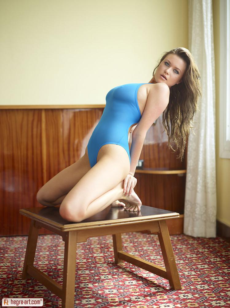 Marjana in Marjana Blue Star by HegreArt 18 nude photos