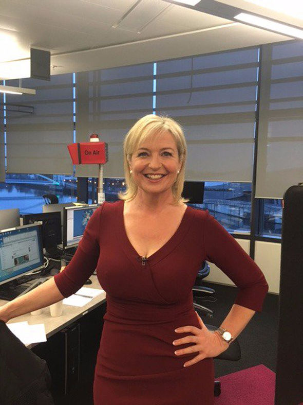 BBC Weather Girl Carol Kirkwood Nude photos leaked by The Fappening