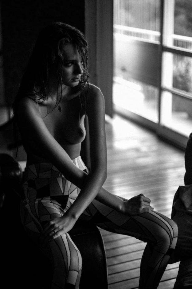 Morgan Fletchall Topless Photoshoot (18 Photos)