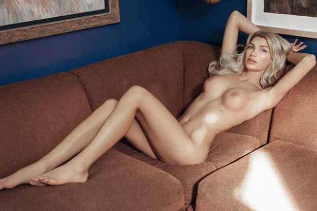 Transexual Model Giuliana Farfalla Naked for Playboy