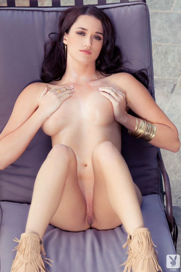 Jade Roper full frontal nude photos for Playboy
