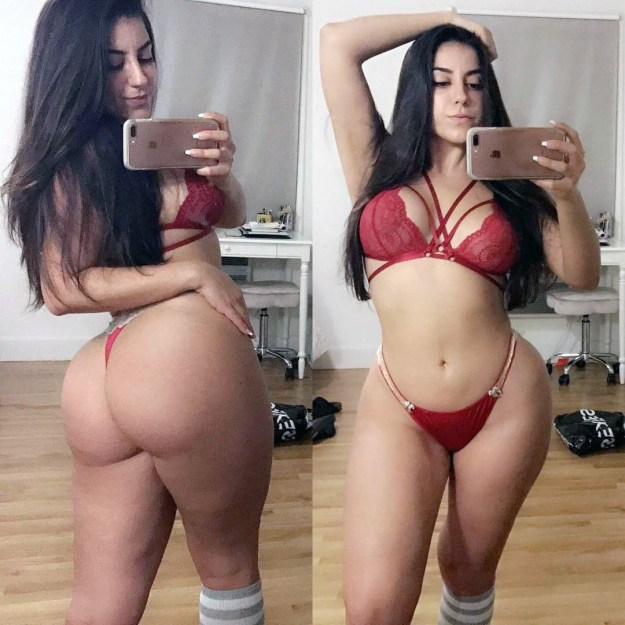 YouTuber Lena The Plug porn videos leaked form SnapChat The Fappening 2019