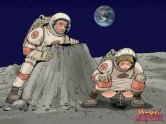 Predominant a fantastic astronaut