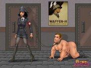 German mistress abases her gimp