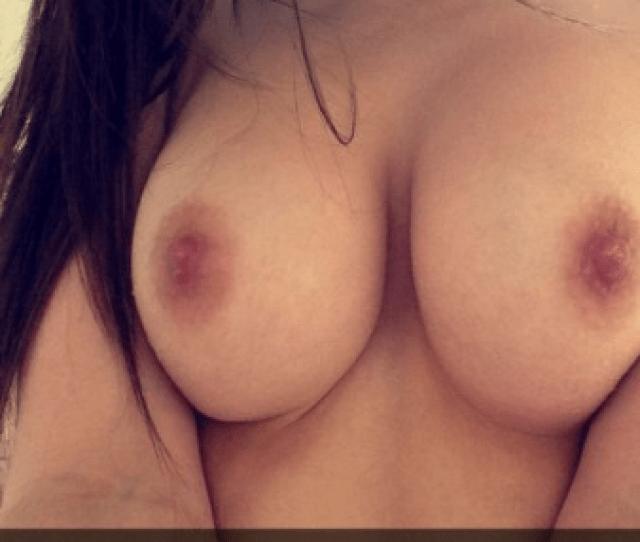 Hot College Slut Nude Snapchat Selfie