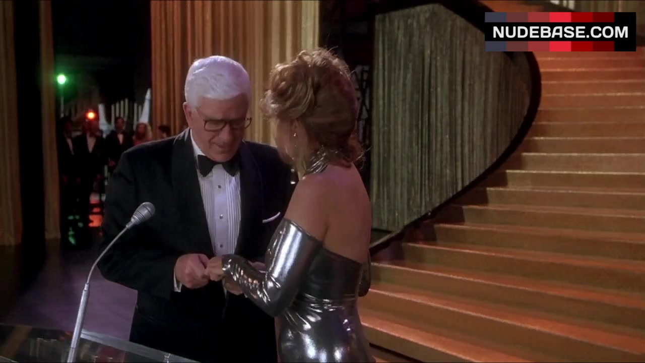 Raquel Welch in Sexy Silver Gown  Naked Gun 33 13 The