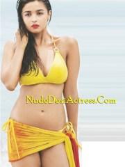 Alia Bhatt Nude