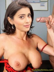 XXX Shriya Saran Nude Giving Blowjob