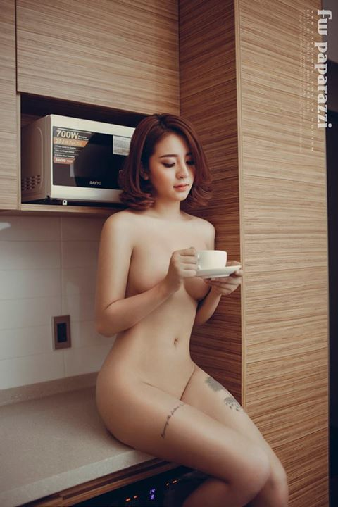 Nude art in Kitchen  Nude Art Collections  Hot Girls around the world