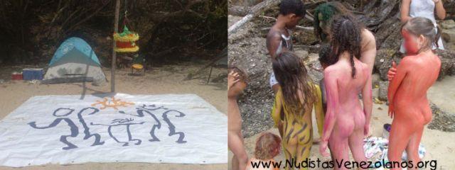 Día del Niño en Nudistas Venezolanos