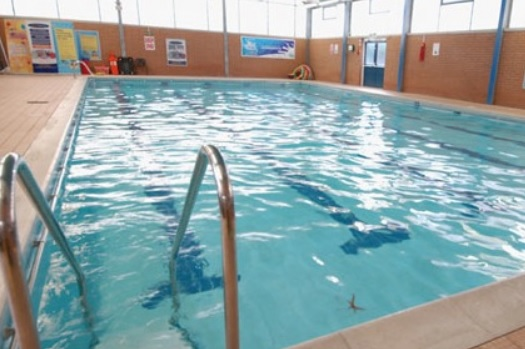 The Larches swimming pool