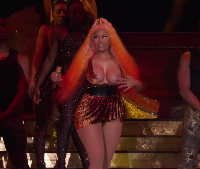 Nicki Minaj Nip Slip Made In America 2018 Hd
