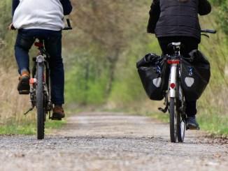 Fahrradschnellweg in Nürnberg