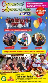 CARNAVAL AYACUCHANO FLYER 2017