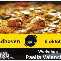 08-10-16- Workshop Paella Valenciana en Eindhoven.