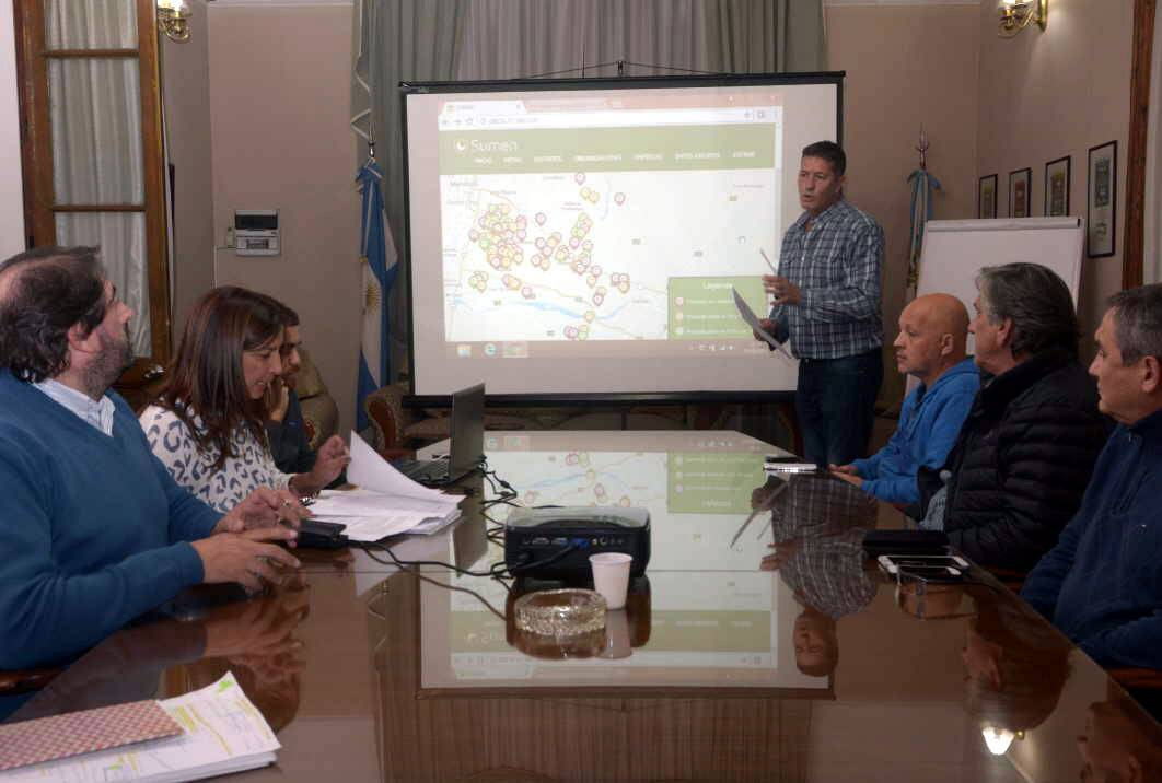 Diario Los Andes:Vecinos de Maipú podrán seguir por internet avance de obras y otras acciones