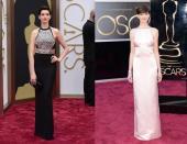 Anne Hathaway Oscars 2014-2013