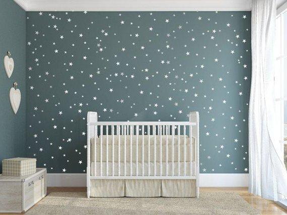 Decorar una pared con estrellas  Nuestros Hijos