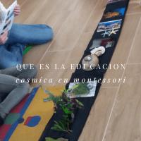 ¿Qué es Educación Cósmica en Montessori?