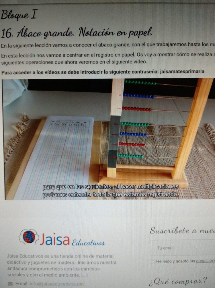 curso jaisa educativos matematicas taller
