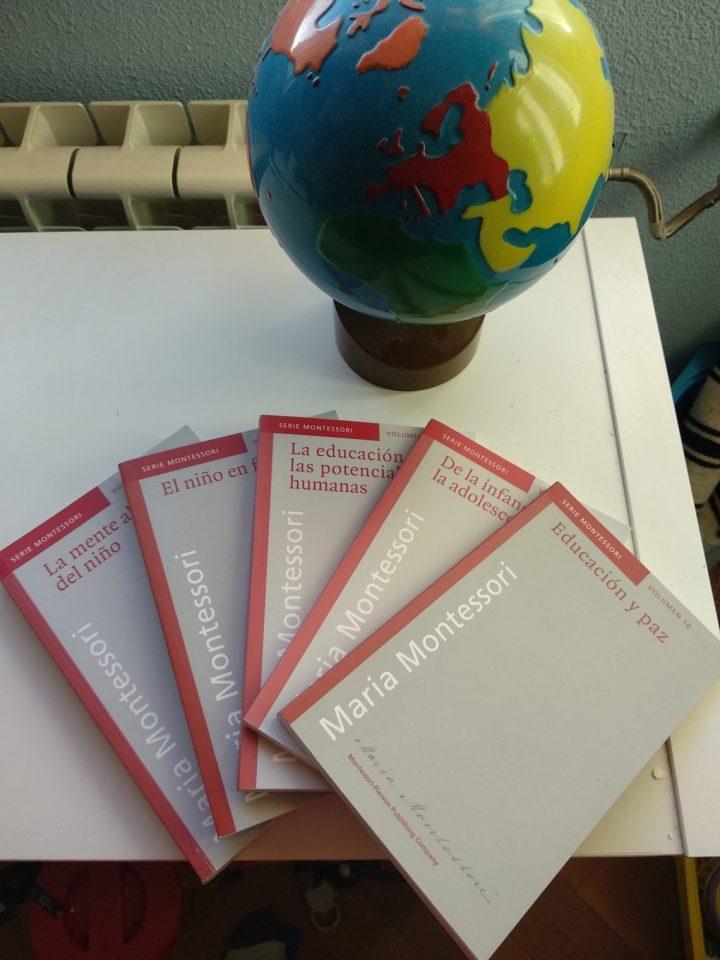 libros maria montessori