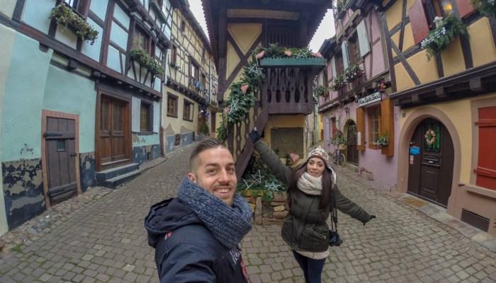 Alsacia en Navidad en un fin de semana