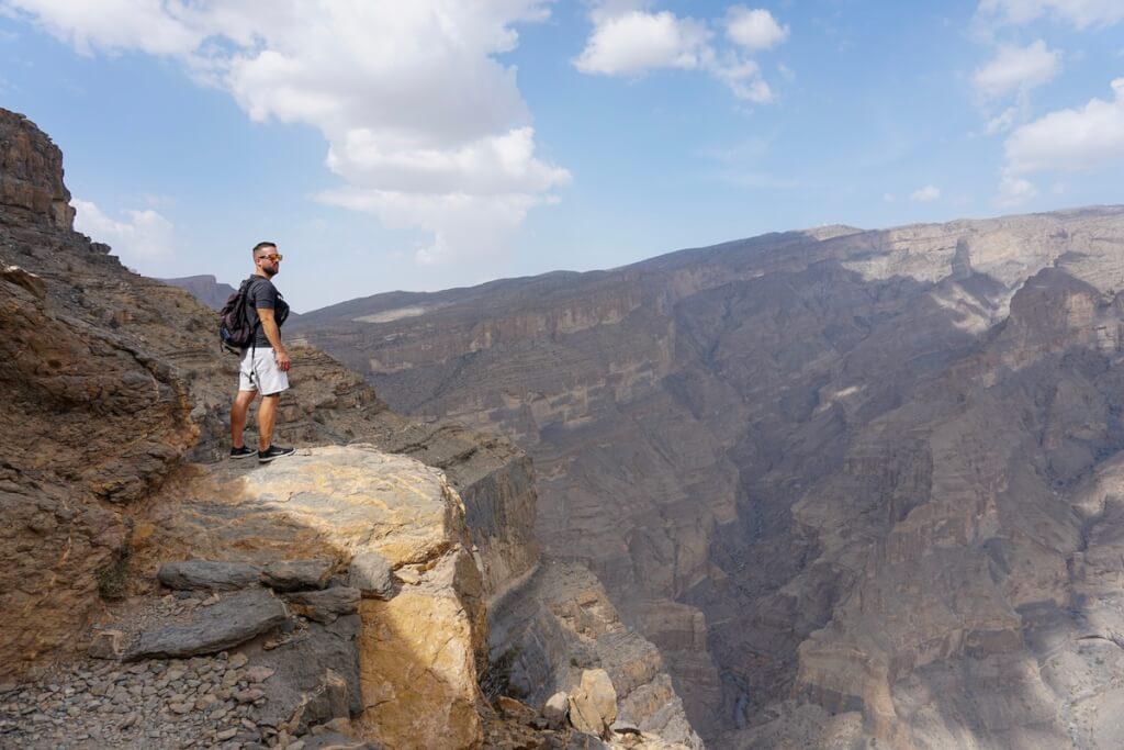 Balcony Trail en Oman