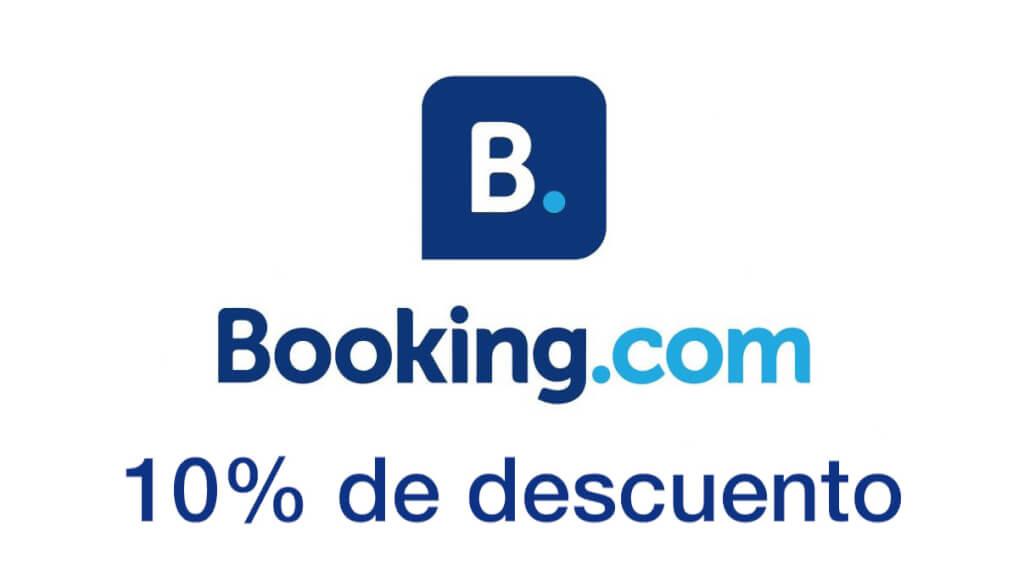 10% descuento Booking