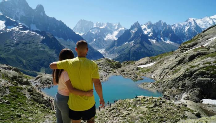 Ruta al Lac Blanc, Chamonix