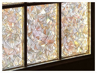 Decorative Window Film for Privacy and Decoration on Windows and Glass