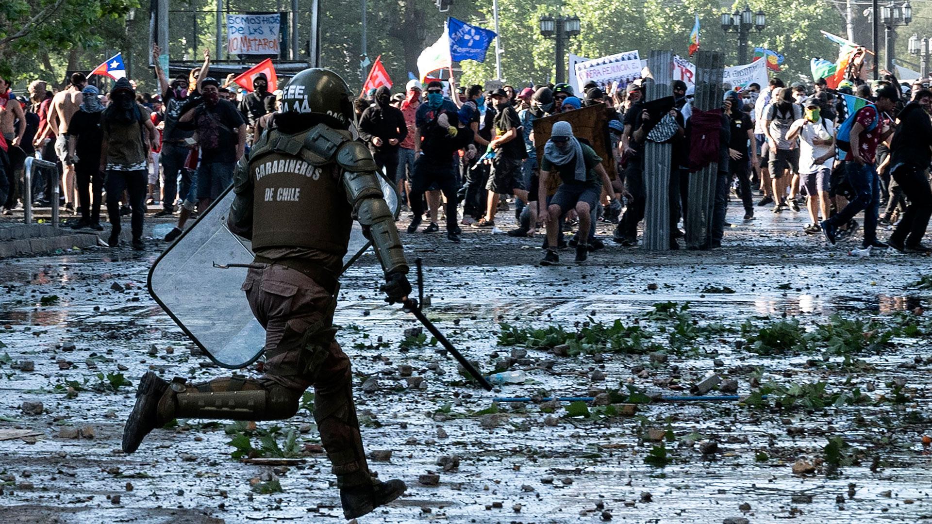 Amnistía Internacional asegura que Chile cerró 2019 con la peor crisis de DDHH desde dictadura